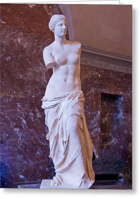Venus De Milo II Greeting Card by Jon Berghoff
