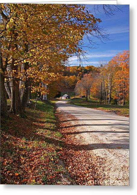 Vermont Sugar House Greeting Card by Butch Lombardi
