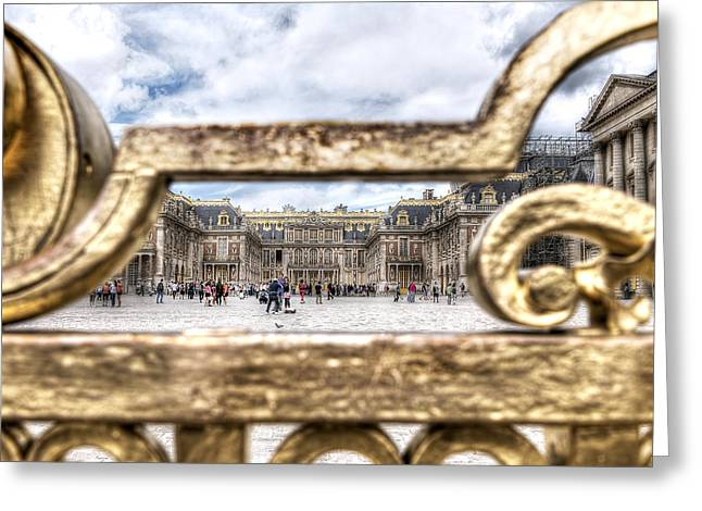 Versailles Greeting Card