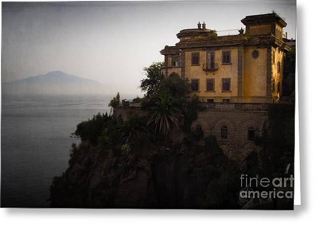 Vesuvius From Sorrento Greeting Card