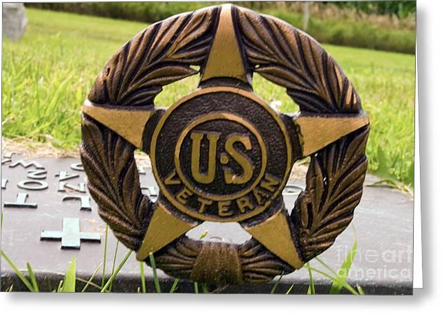 Veterans Wreath Greeting Card