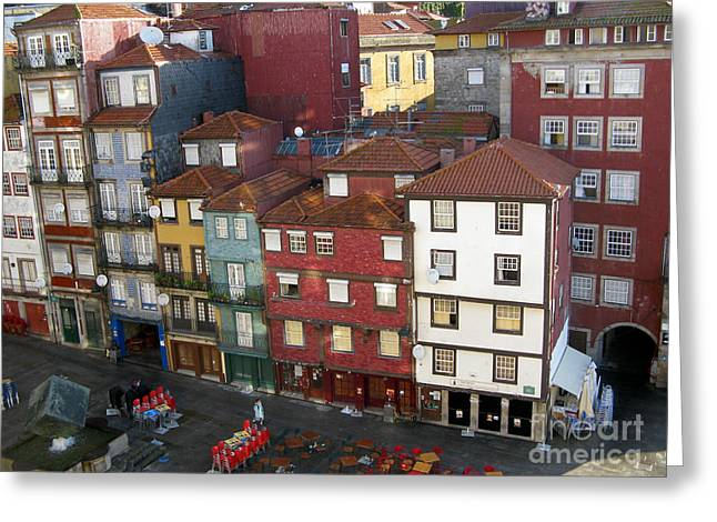 Vibrant Porto Greeting Card