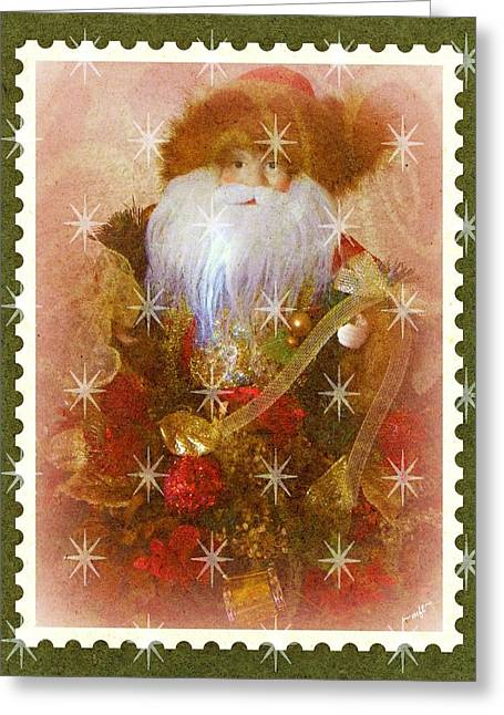Greeting Card featuring the photograph Victorian Santa by Michelle Frizzell-Thompson