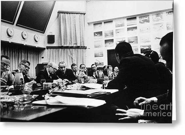 Vietnam War: Conference Greeting Card by Granger