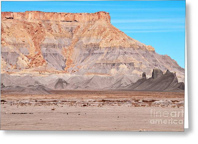 Greeting Card featuring the photograph View Along Rt 12 In Utah by Bob and Nancy Kendrick