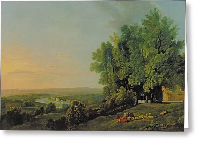 View From Richmond Greeting Card