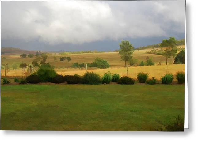 View From Verandah 1 Greeting Card