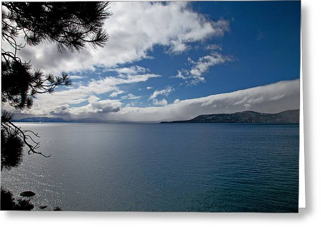 View Of Lake Tahoe Greeting Card