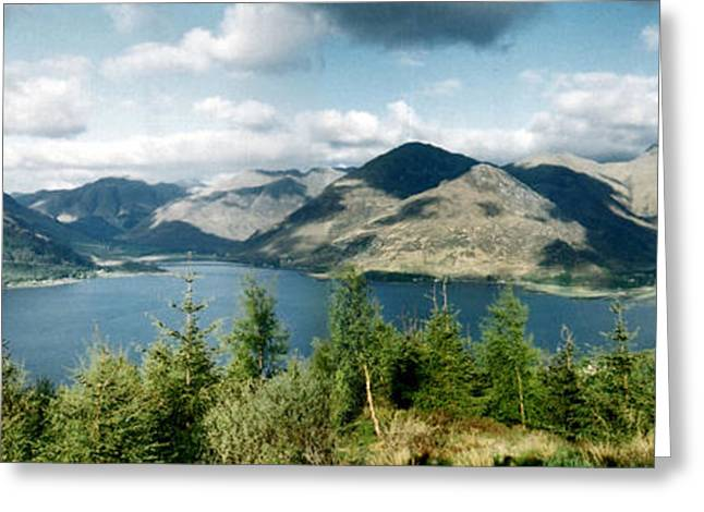 View Of Loch Alsh Greeting Card