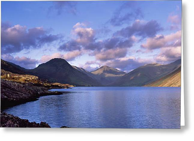 View Of Wastewater, Located In The Lake Greeting Card by Axiom Photographic