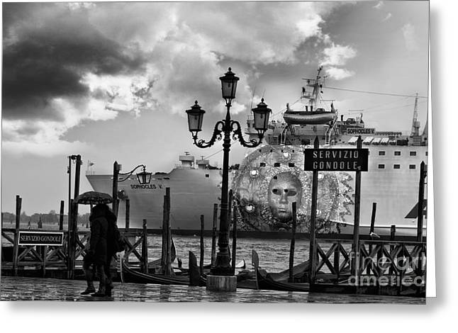 View On Canale Di San Marco In Venice Greeting Card by Design Remix