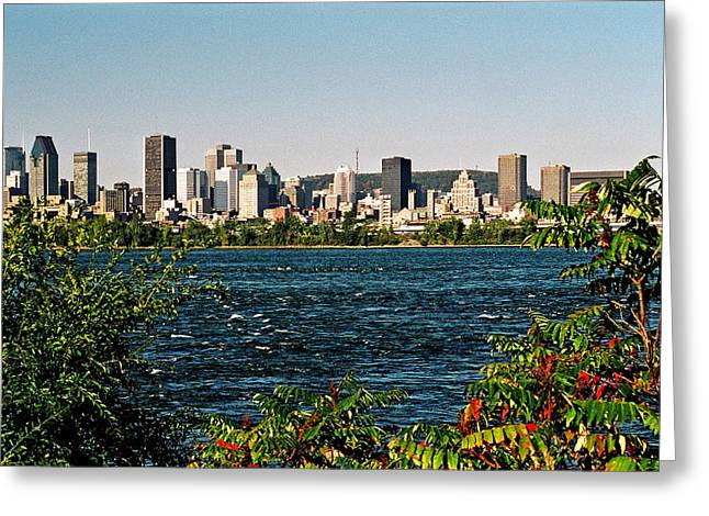Greeting Card featuring the photograph Ville De Montreal by Juergen Weiss
