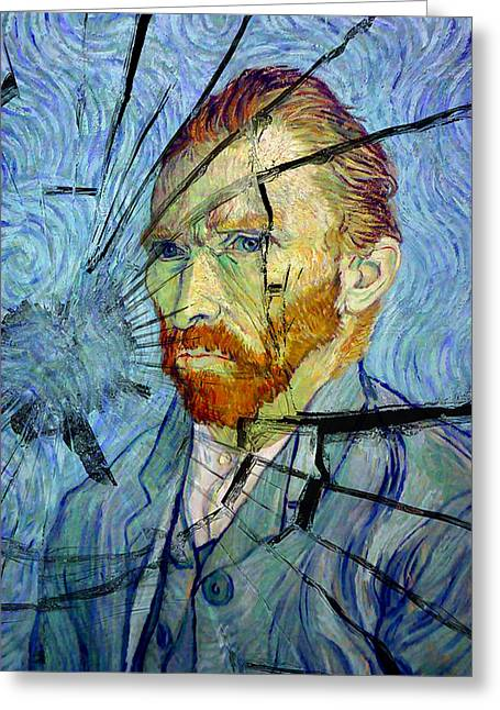 Greeting Card featuring the photograph Vincent by Rod Jones
