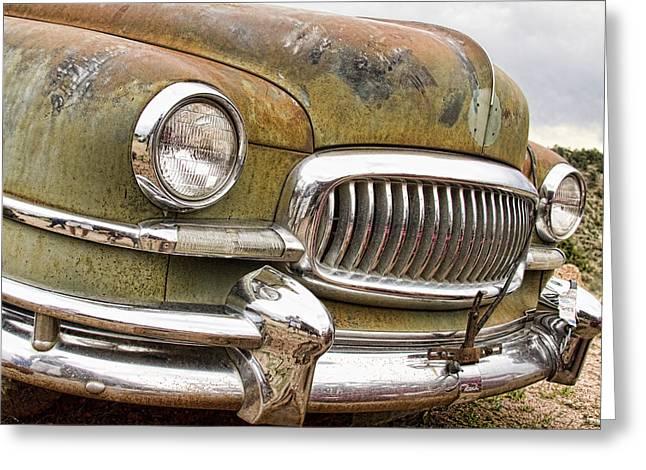 Vintage 1951 Nash Ambassador Front End 2 Greeting Card by James BO  Insogna