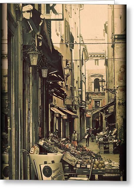 Vintage Bologna Italy Greeting Card