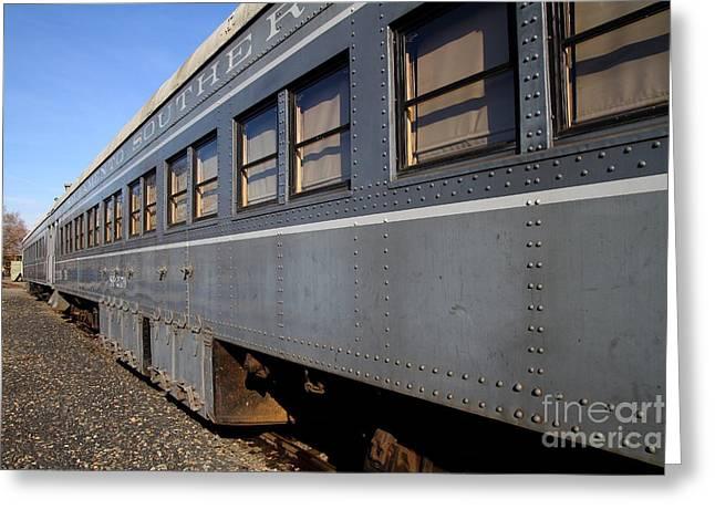 Vintage Railroad Trains . 7d11617 Greeting Card