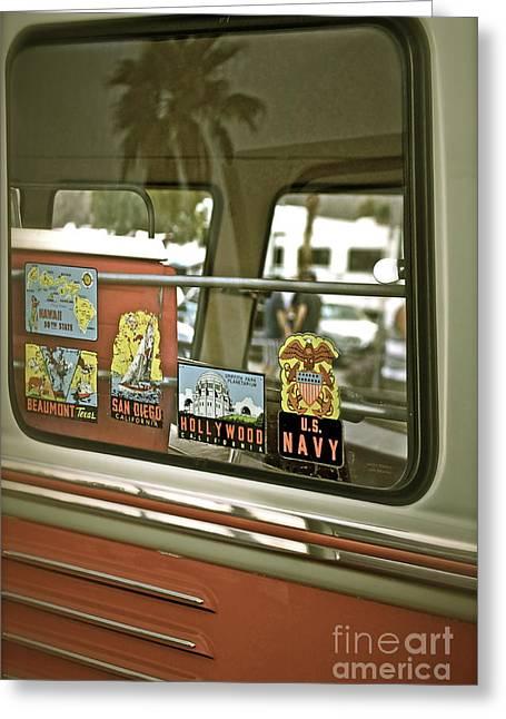 Vintage Volkswagen Vagabond Greeting Card