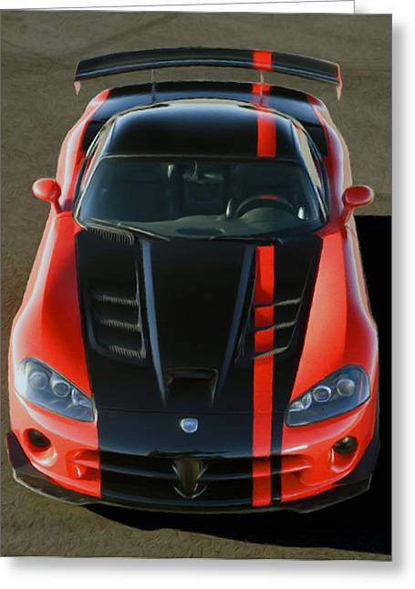 Viper Acr Greeting Card by Rodney Mann