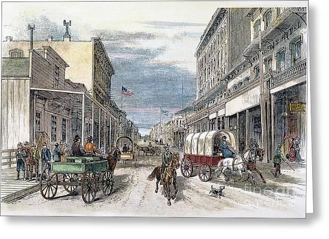 Virginia City, Nevada Greeting Card