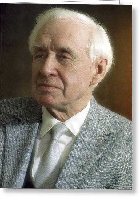 Vladimir Engelgardt, Soviet Biochemist Greeting Card by Ria Novosti