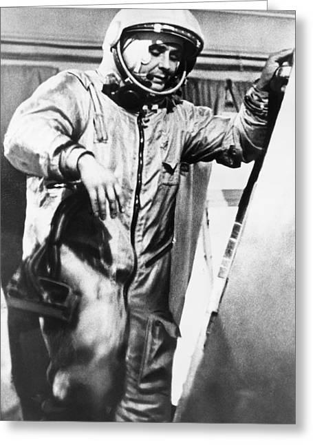 Vladimir Komarov, Soviet Cosmonaut Greeting Card