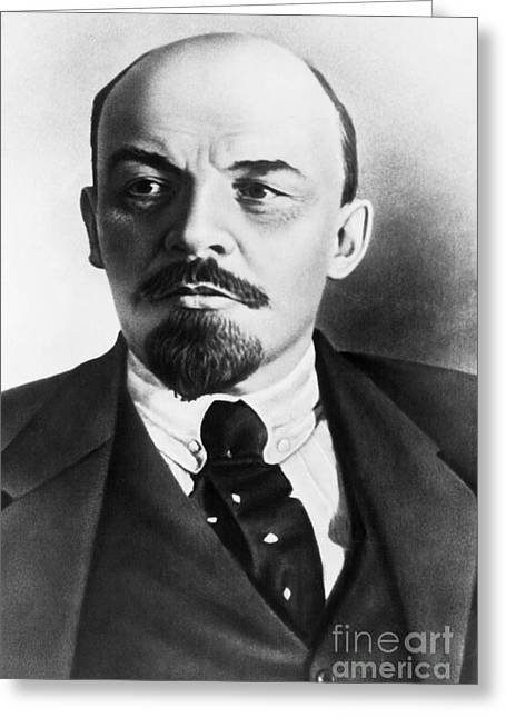 Vladimir Lenin, Russian Marxist Greeting Card