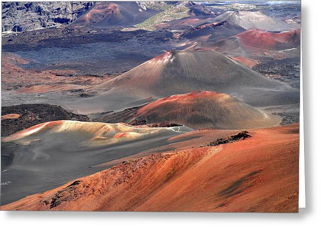 Volcano Masterpiece Greeting Card