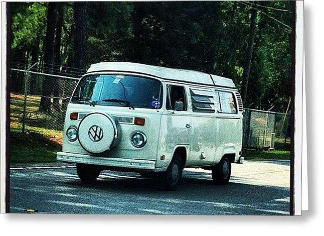 Volkswagon Bus Greeting Card