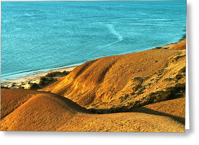 Voluptuous Shoreline Greeting Card