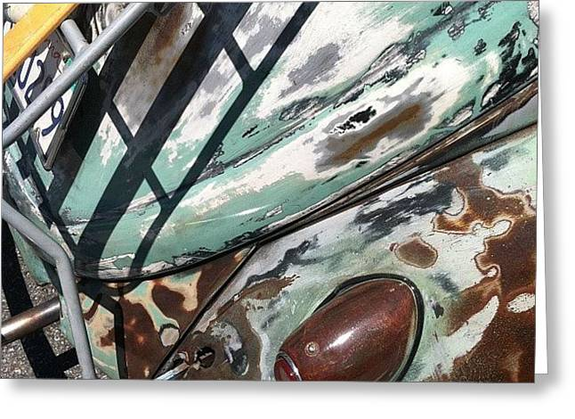 Vw Abstract Greeting Card
