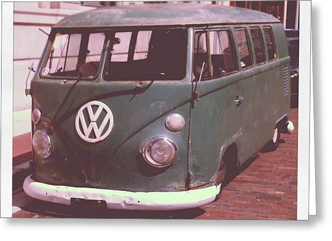 Vw In Downtown Fort Myers. #vw Greeting Card