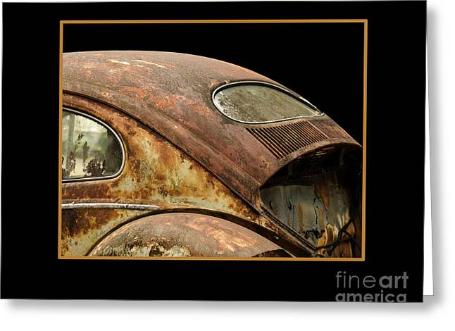 Vw Rust Bug Greeting Card