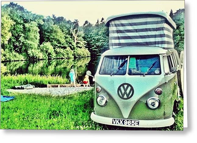 #vw That's Camping Greeting Card
