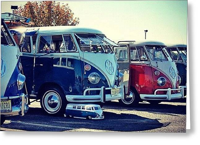 #vw #vwbus #igdaily #instagood #car Greeting Card