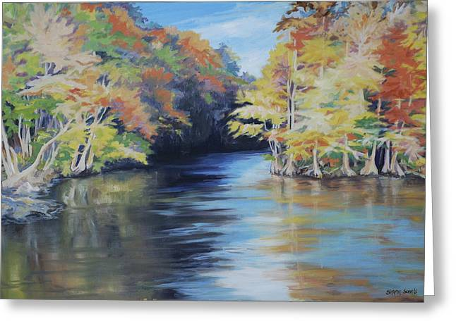 Waccamaw Autumn Greeting Card