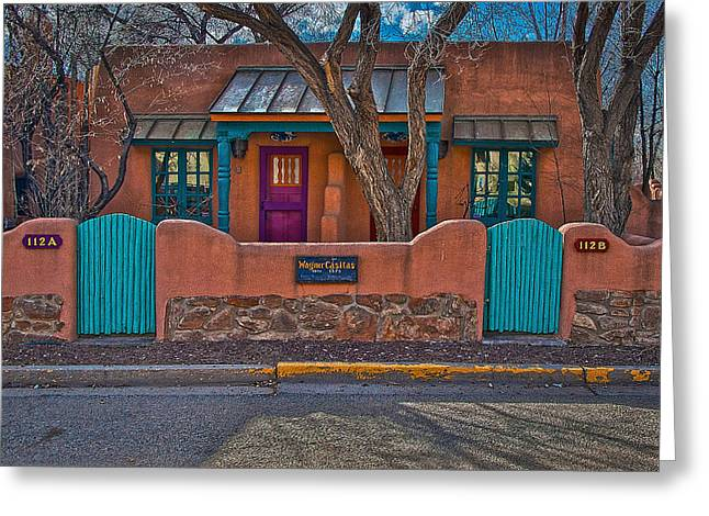 Wagner Casitas Greeting Card by Charles Muhle