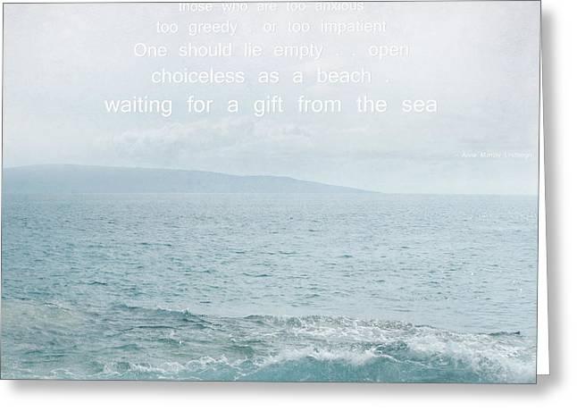 Waiola Water Of Life Greeting Card by Sharon Mau