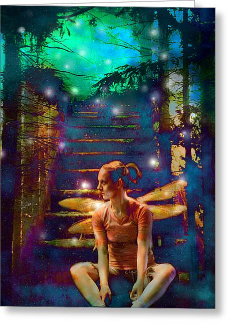 Greeting Card featuring the photograph Waiting At The Gates Of Dawn by Nada Meeks