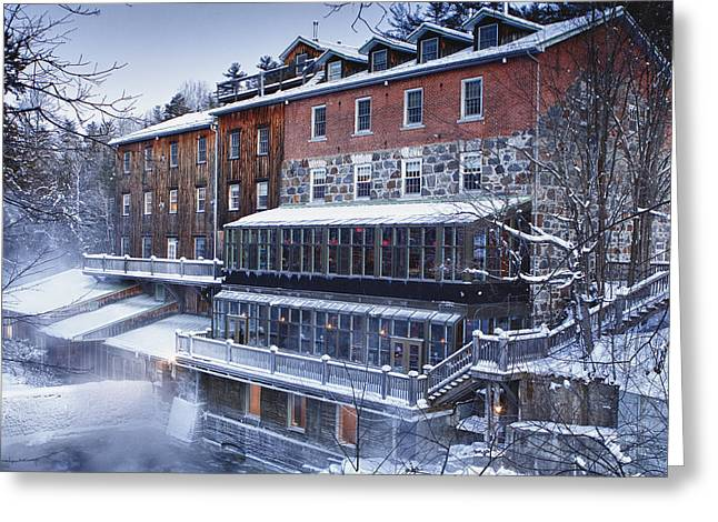 Greeting Card featuring the photograph Wakefield Inn by Eunice Gibb