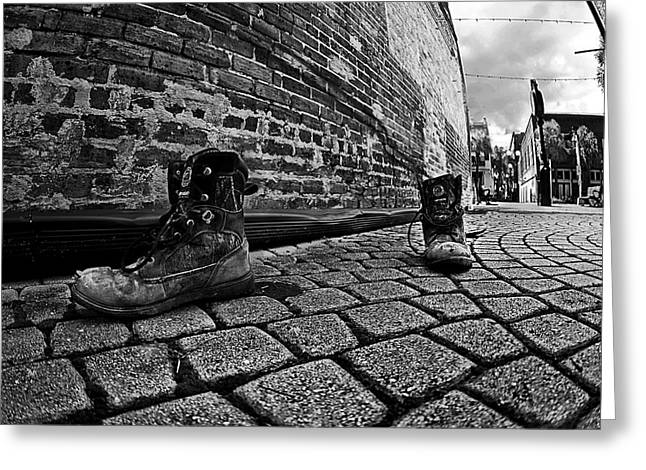 Greeting Card featuring the photograph Walkabout by Dan Wells