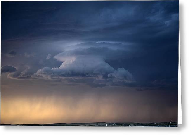 Wall Cloud Convecting Greeting Card by Loren Rye