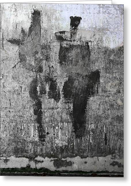 Wall Texture Number 13 Greeting Card by Carol Leigh