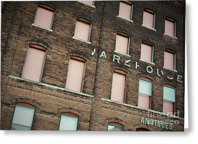 Warehouse Greeting Card by Chris Berry