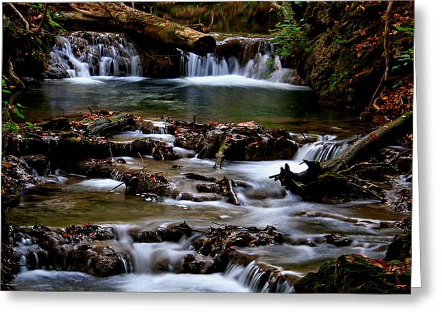 Greeting Card featuring the photograph Warm Springs by Karen Harrison