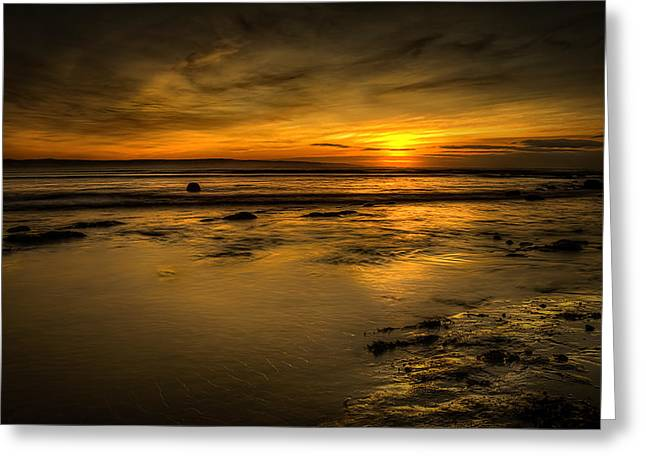 Warmth Of Light Greeting Card by Svetlana Sewell
