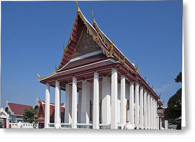 Wat Thewarat Kunchorn Ubosot Dthb1297 Greeting Card by Gerry Gantt