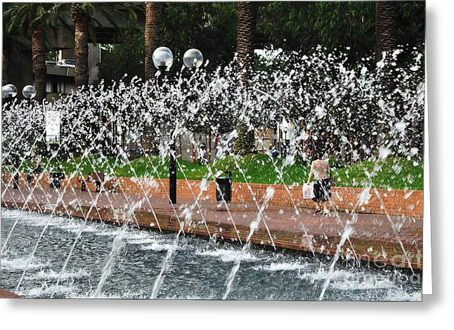 Water Feature Greeting Card