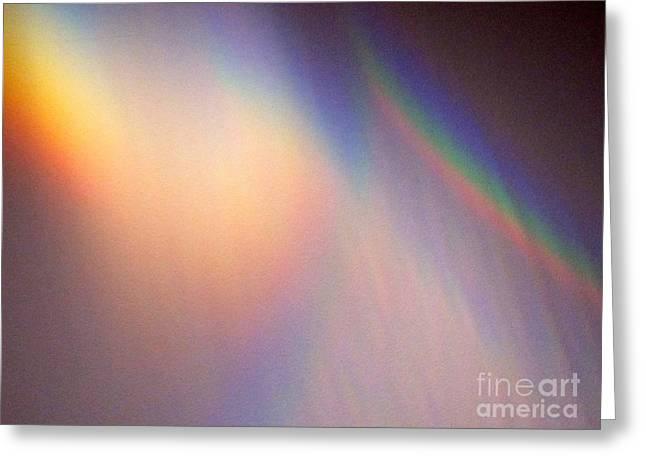 Water Rainbow Greeting Card by Phyllis Kaltenbach