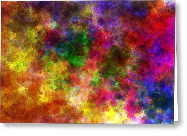 Water Space Greeting Card by Lance  Kelly