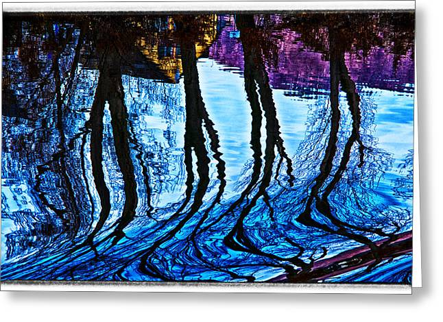 Greeting Card featuring the photograph Water Spirits On Rhine by Rick Bragan